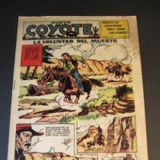 Tebeos: COYOTE, EL (1947, CLIPER) 164 · 1953 · LA VOLUNTAD DEL MUERTO. Lote 241454695