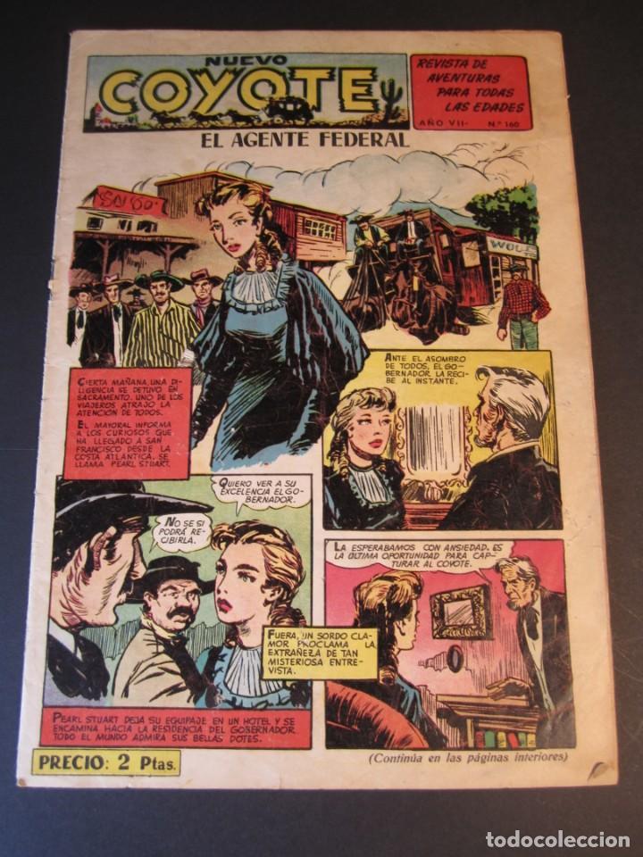 COYOTE, EL (1947, CLIPER) 160 · 1953 · EL AGENTE FEDERAL (Tebeos y Comics - Cliper - El Coyote)