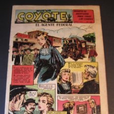 Tebeos: COYOTE, EL (1947, CLIPER) 160 · 1953 · EL AGENTE FEDERAL. Lote 241456635