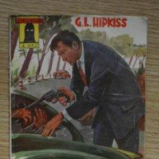 Tebeos: DONDE MENOS SE PIENSA EL ENCAPUCHADO 43 G.L. HIPKISS EDICIONES CLIPER AÑO 1948 1ª EDICIÓN. Lote 241525750