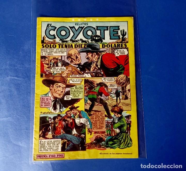 RELATOS EL COYOTE Nº 99 -ORIGINAL -EXCELENTE ESTADO (Tebeos y Comics - Cliper - El Coyote)