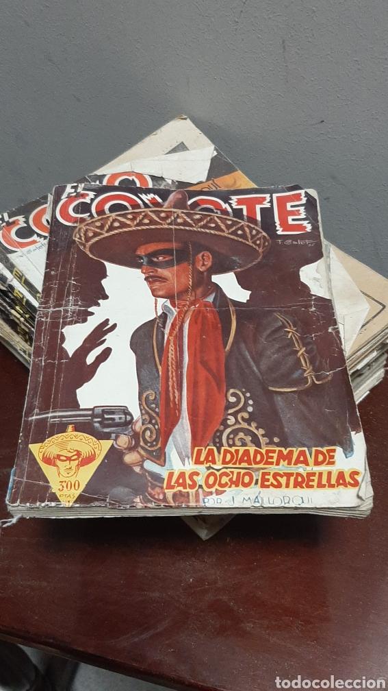Tebeos: LOTE 13 COMOCS EL COYOTE 1950/1949 VER FOTOS - Foto 2 - 241871945