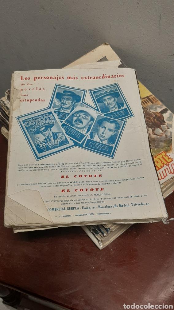 Tebeos: LOTE 13 COMOCS EL COYOTE 1950/1949 VER FOTOS - Foto 4 - 241871945