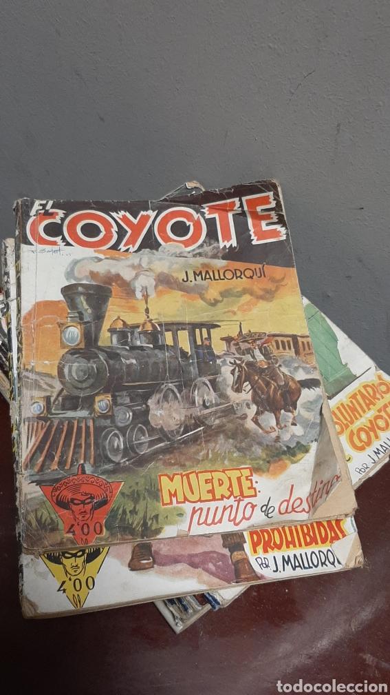 Tebeos: LOTE 13 COMOCS EL COYOTE 1950/1949 VER FOTOS - Foto 5 - 241871945