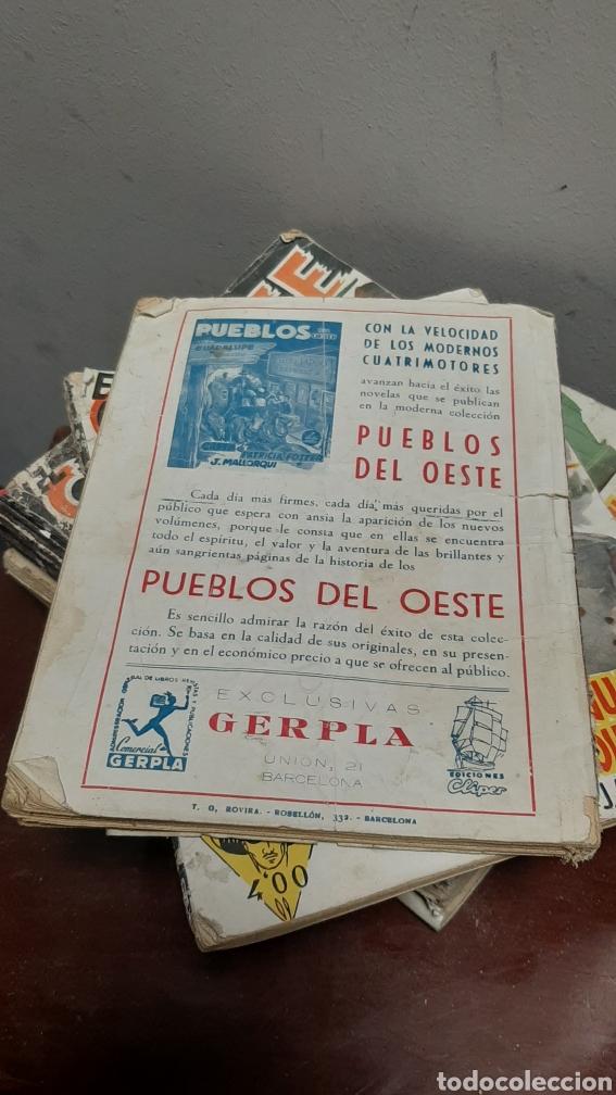Tebeos: LOTE 13 COMOCS EL COYOTE 1950/1949 VER FOTOS - Foto 7 - 241871945