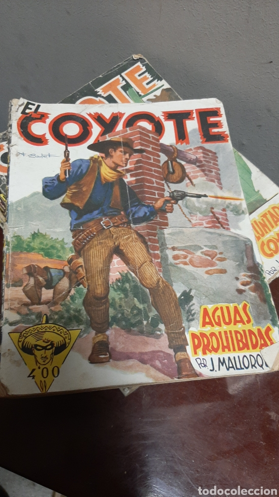 Tebeos: LOTE 13 COMOCS EL COYOTE 1950/1949 VER FOTOS - Foto 8 - 241871945