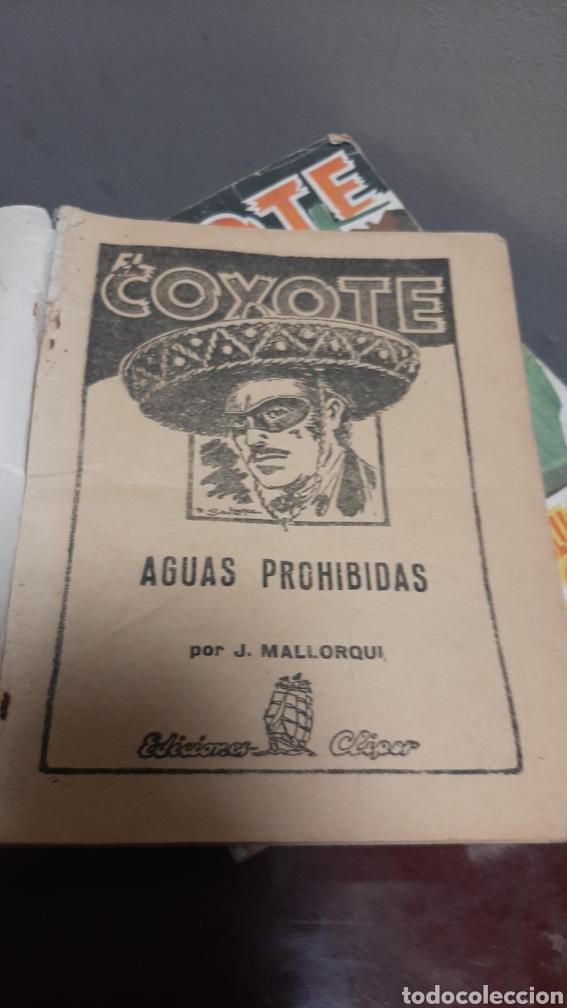 Tebeos: LOTE 13 COMOCS EL COYOTE 1950/1949 VER FOTOS - Foto 9 - 241871945