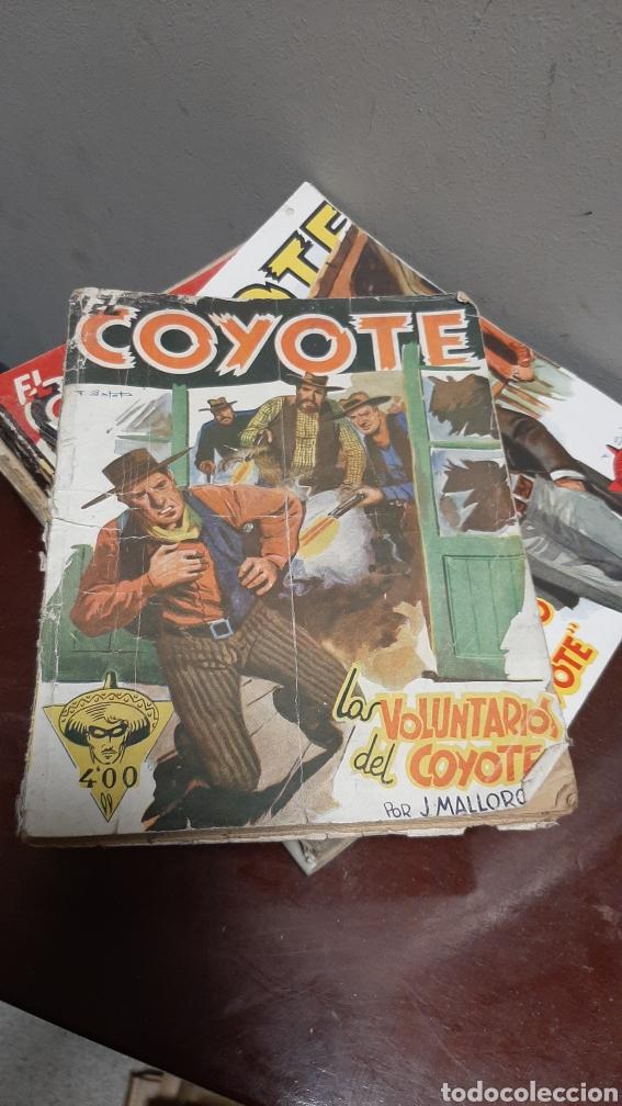 Tebeos: LOTE 13 COMOCS EL COYOTE 1950/1949 VER FOTOS - Foto 11 - 241871945