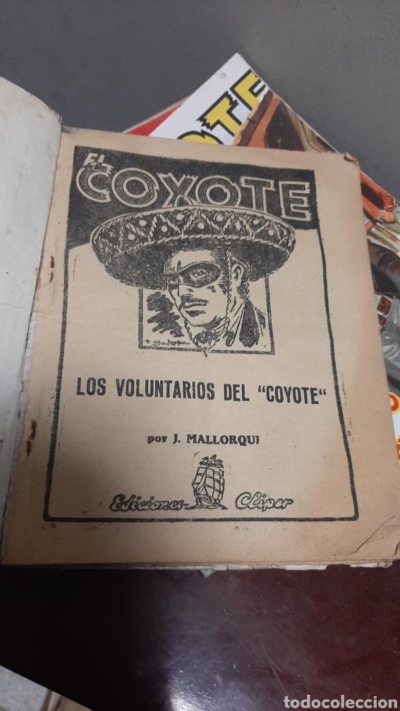 Tebeos: LOTE 13 COMOCS EL COYOTE 1950/1949 VER FOTOS - Foto 12 - 241871945