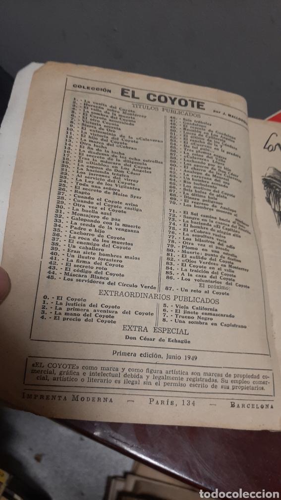 Tebeos: LOTE 13 COMOCS EL COYOTE 1950/1949 VER FOTOS - Foto 13 - 241871945