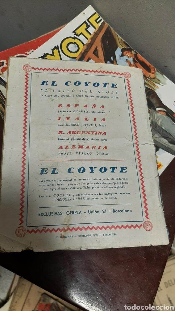 Tebeos: LOTE 13 COMOCS EL COYOTE 1950/1949 VER FOTOS - Foto 14 - 241871945