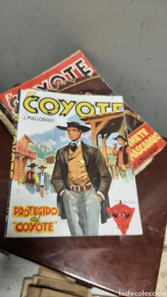 Tebeos: LOTE 13 COMOCS EL COYOTE 1950/1949 VER FOTOS - Foto 15 - 241871945