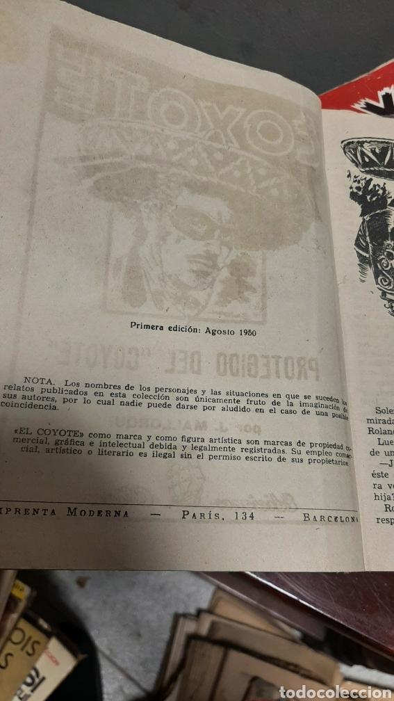 Tebeos: LOTE 13 COMOCS EL COYOTE 1950/1949 VER FOTOS - Foto 17 - 241871945