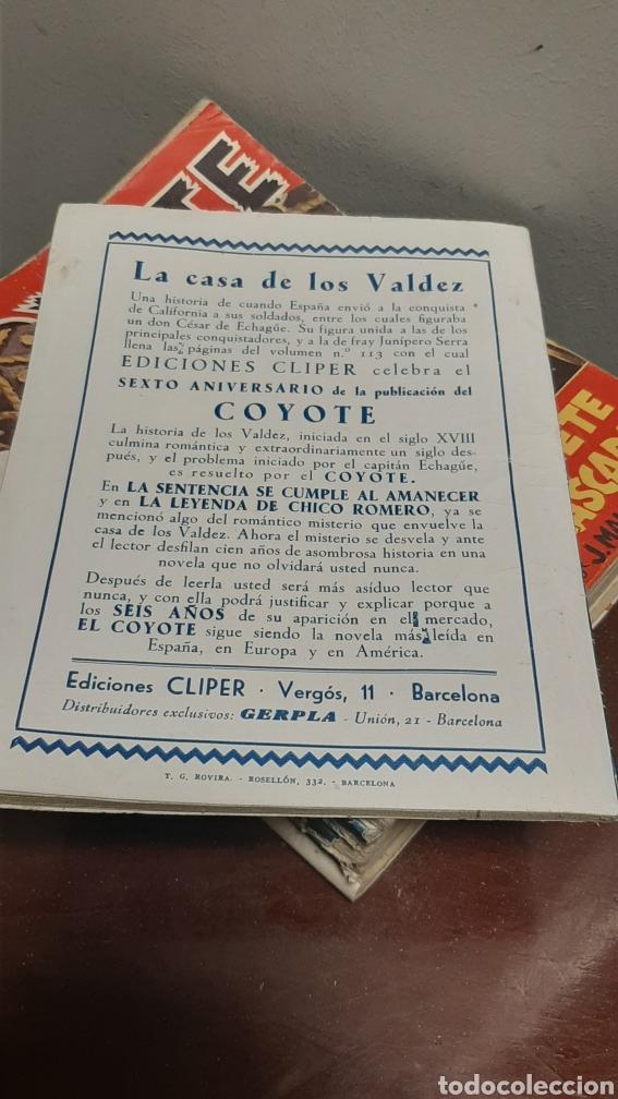 Tebeos: LOTE 13 COMOCS EL COYOTE 1950/1949 VER FOTOS - Foto 18 - 241871945