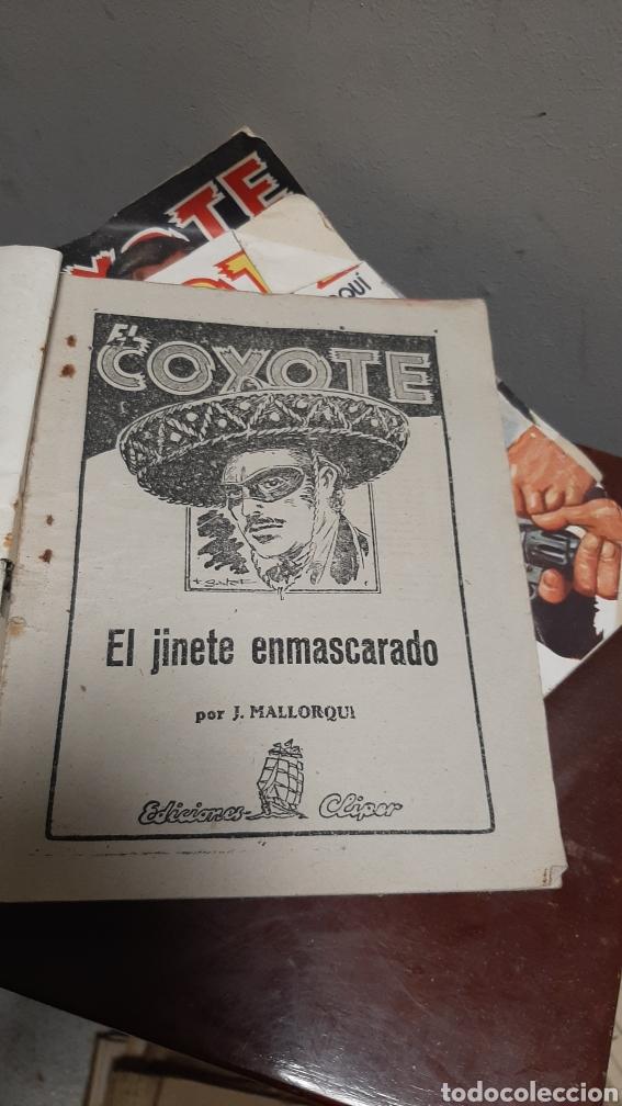 Tebeos: LOTE 13 COMOCS EL COYOTE 1950/1949 VER FOTOS - Foto 20 - 241871945