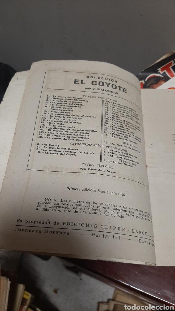 Tebeos: LOTE 13 COMOCS EL COYOTE 1950/1949 VER FOTOS - Foto 21 - 241871945