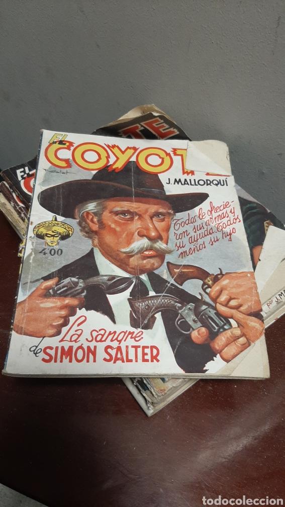 Tebeos: LOTE 13 COMOCS EL COYOTE 1950/1949 VER FOTOS - Foto 22 - 241871945