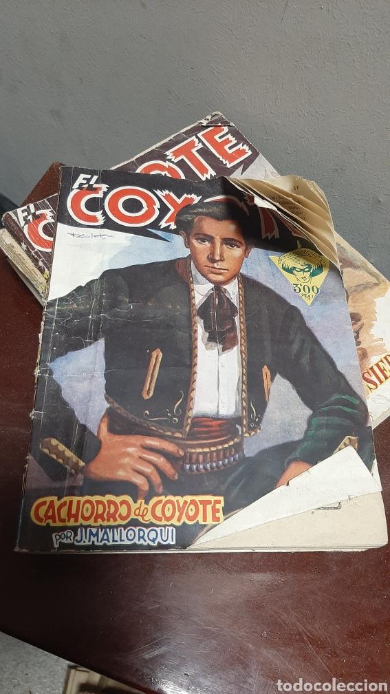 Tebeos: LOTE 13 COMOCS EL COYOTE 1950/1949 VER FOTOS - Foto 24 - 241871945