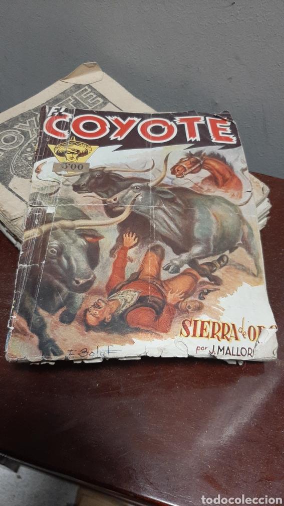 Tebeos: LOTE 13 COMOCS EL COYOTE 1950/1949 VER FOTOS - Foto 26 - 241871945