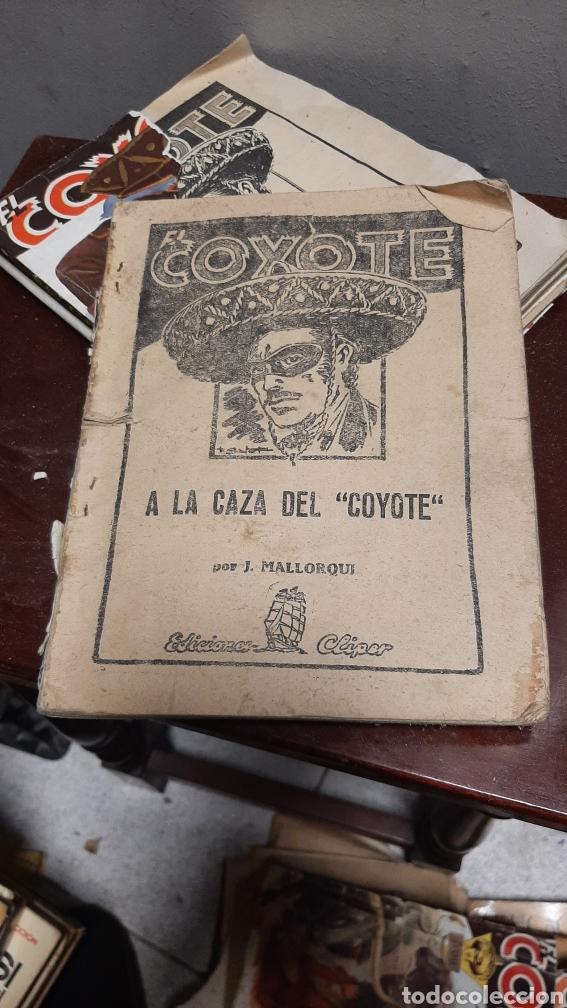 Tebeos: LOTE 13 COMOCS EL COYOTE 1950/1949 VER FOTOS - Foto 29 - 241871945