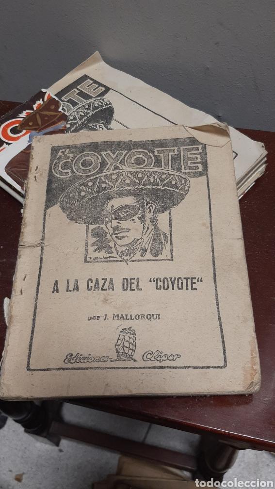 Tebeos: LOTE 13 COMOCS EL COYOTE 1950/1949 VER FOTOS - Foto 30 - 241871945