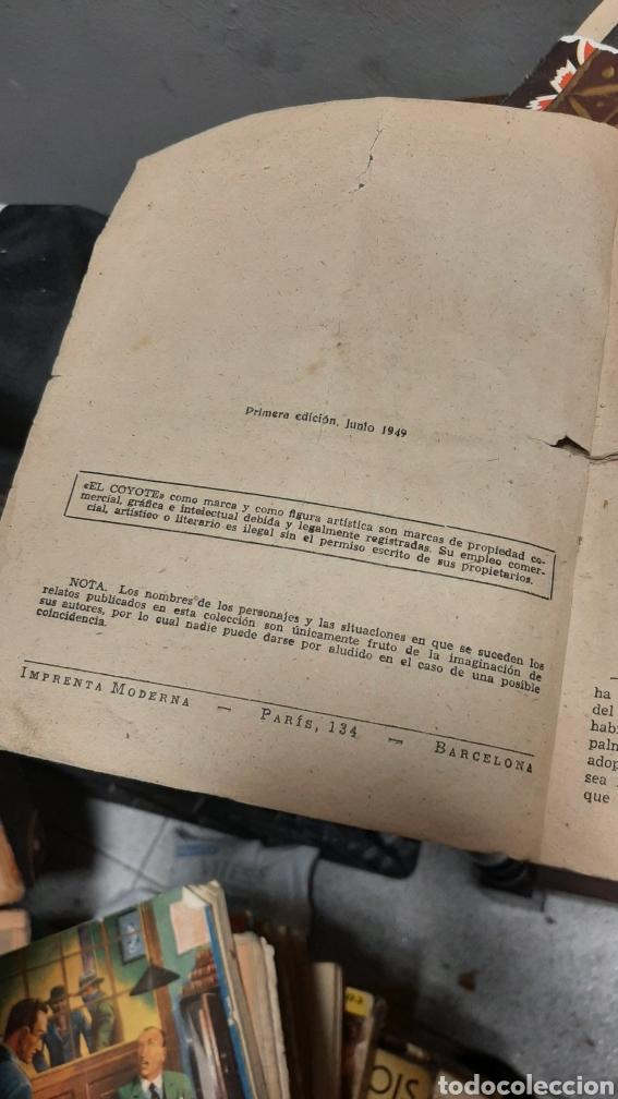 Tebeos: LOTE 13 COMOCS EL COYOTE 1950/1949 VER FOTOS - Foto 31 - 241871945