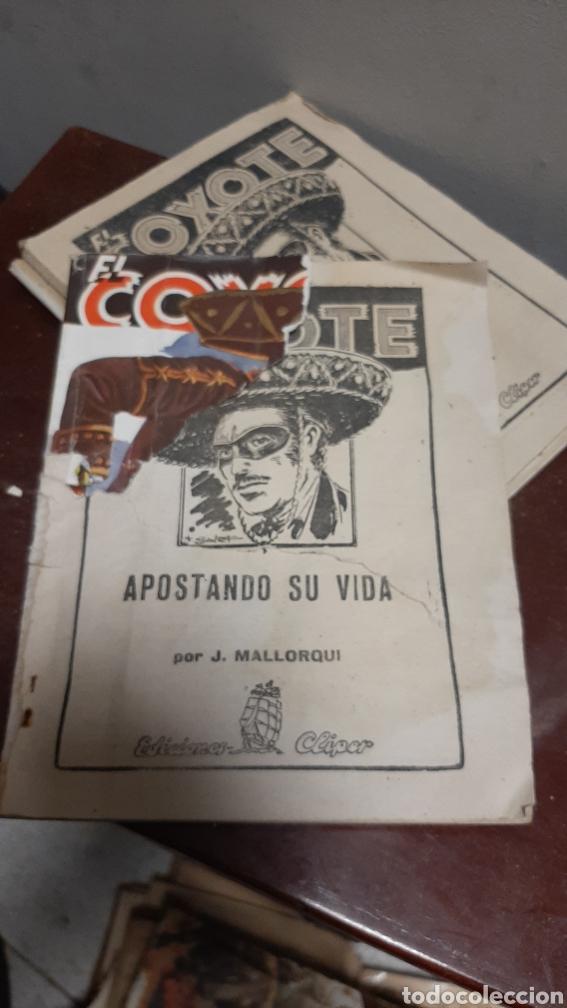 Tebeos: LOTE 13 COMOCS EL COYOTE 1950/1949 VER FOTOS - Foto 32 - 241871945
