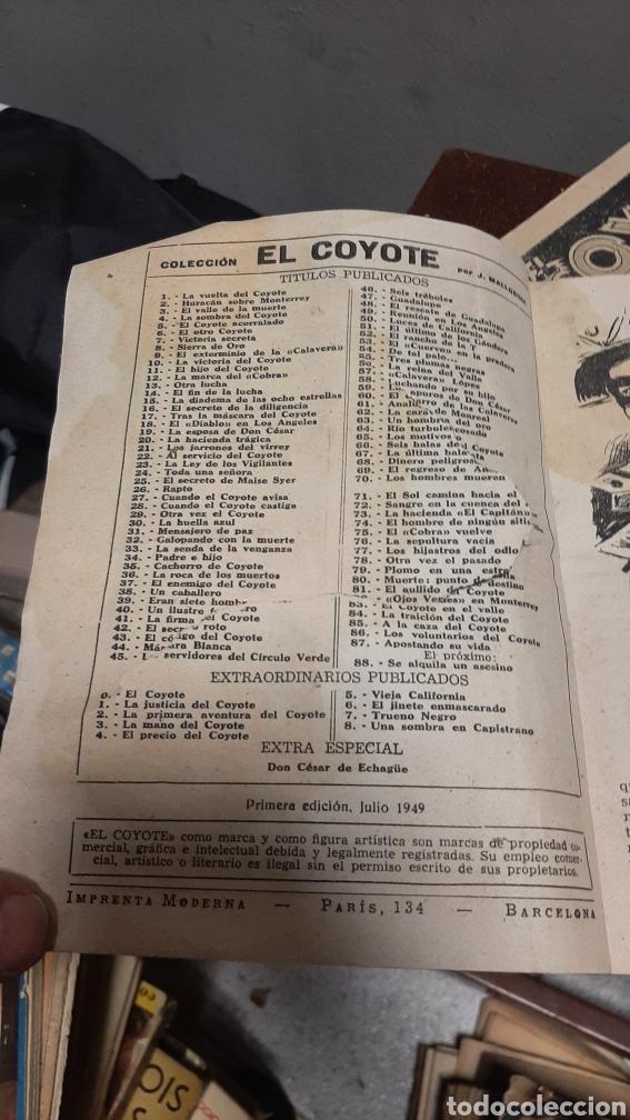 Tebeos: LOTE 13 COMOCS EL COYOTE 1950/1949 VER FOTOS - Foto 33 - 241871945