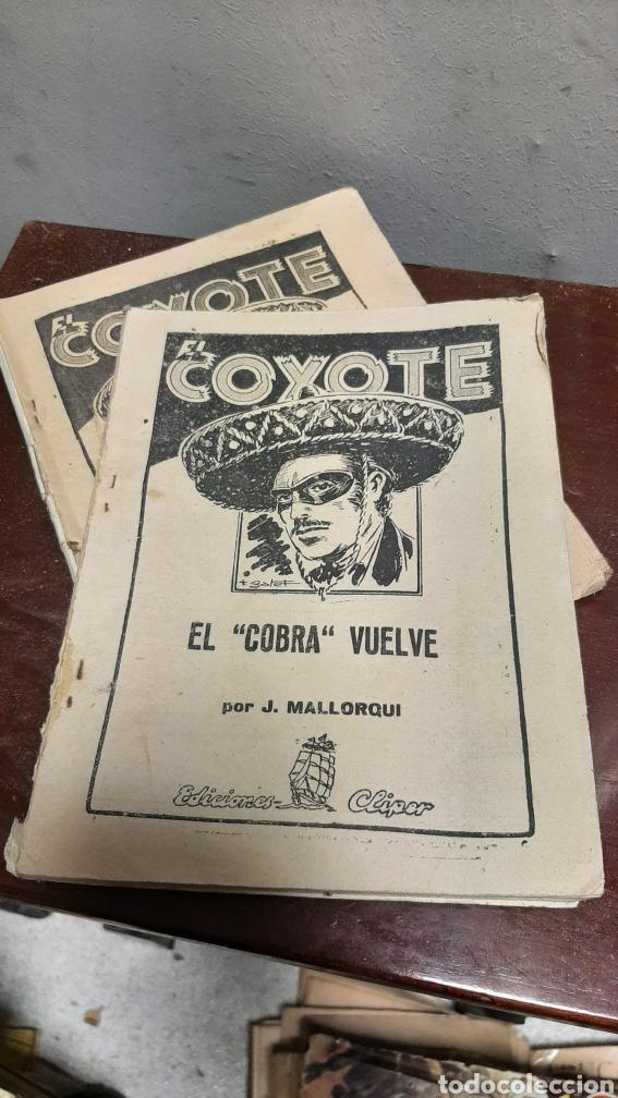 Tebeos: LOTE 13 COMOCS EL COYOTE 1950/1949 VER FOTOS - Foto 34 - 241871945