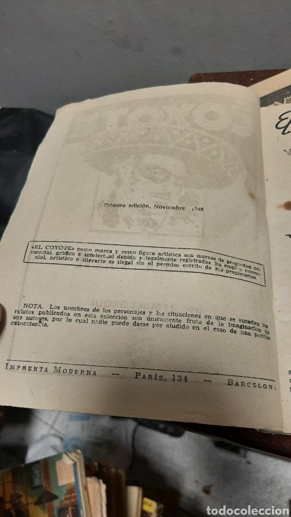 Tebeos: LOTE 13 COMOCS EL COYOTE 1950/1949 VER FOTOS - Foto 35 - 241871945