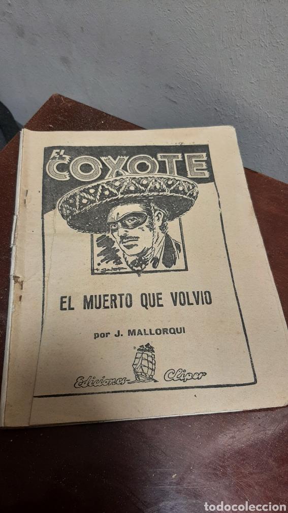 Tebeos: LOTE 13 COMOCS EL COYOTE 1950/1949 VER FOTOS - Foto 36 - 241871945