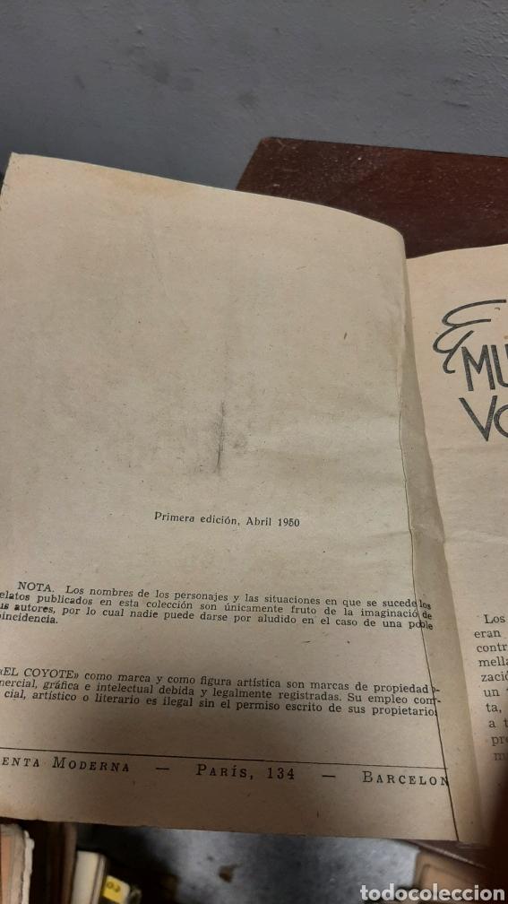 Tebeos: LOTE 13 COMOCS EL COYOTE 1950/1949 VER FOTOS - Foto 37 - 241871945