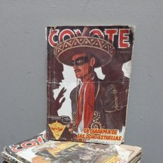 Tebeos: LOTE 13 COMOCS EL COYOTE 1950/1949 VER FOTOS. Lote 241871945