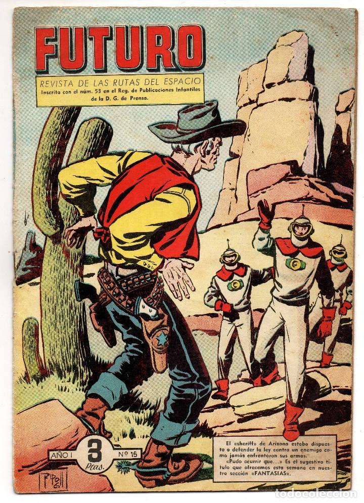 FUTURO Nº 15 (CLIPER 1957) (Tebeos y Comics - Cliper - Otros)