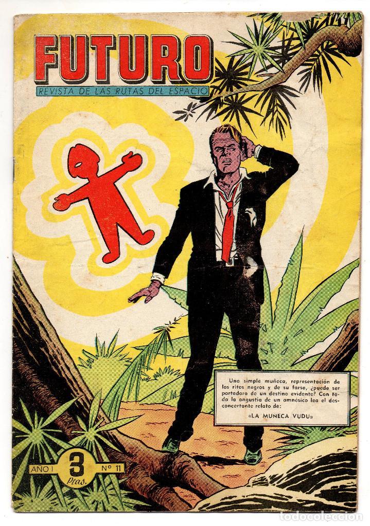 FUTURO Nº 11 (CLIPER 1957) (Tebeos y Comics - Cliper - Otros)