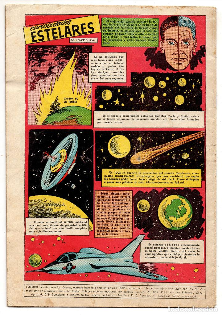 Tebeos: FUTURO nº 11 (Cliper 1957) - Foto 3 - 243334145