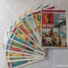 Tebeos: ALCOTÁN. CLÍPER, 1951. COMPLETA (12 EJEMPLARES). BUEN ESTADO EN GENERAL. MIRAR FOTOS ADICIONALES.. Lote 243389455