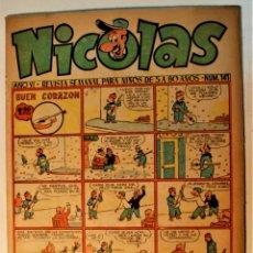 Tebeos: NICOLAS EDITORIAL CLIPER 1948, NÚMERO ORIGINAL 141. Lote 243601350