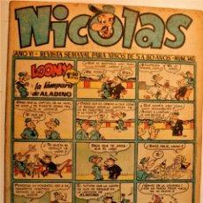 Tebeos: NICOLAS, EDITORIAL CLIPER 1948, NÚMERO ORIGINAL 146. Lote 243602300