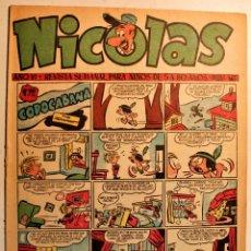 Livros de Banda Desenhada: NICOLAS, EDITORIAL CLIPER 1948, NÚMERO ORIGINAL 147. Lote 243602535