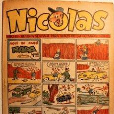 Tebeos: NICOLAS, EDITORIAL CLIPER 1948, NÚMERO ORIGINAL 150. Lote 243603250