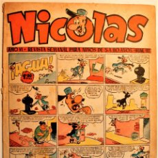 Tebeos: NICOLAS, EDITORIAL CLIPER 1948, NÚMERO ORIGINAL 151. Lote 243603550