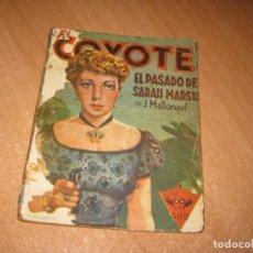 Tebeos: COMIC EL PASADO DE SARAH MARSH. Lote 243816955