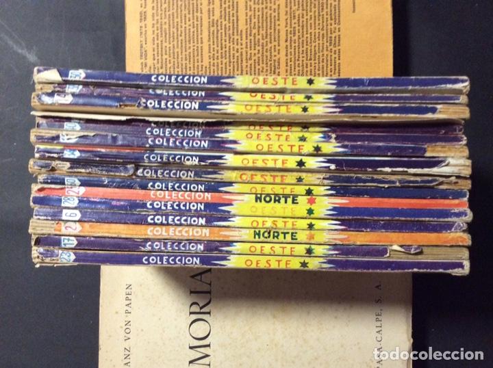 Tebeos: 14 NOVELAS DEL OESTE. EDICIONES CLIPER - Foto 2 - 243903760