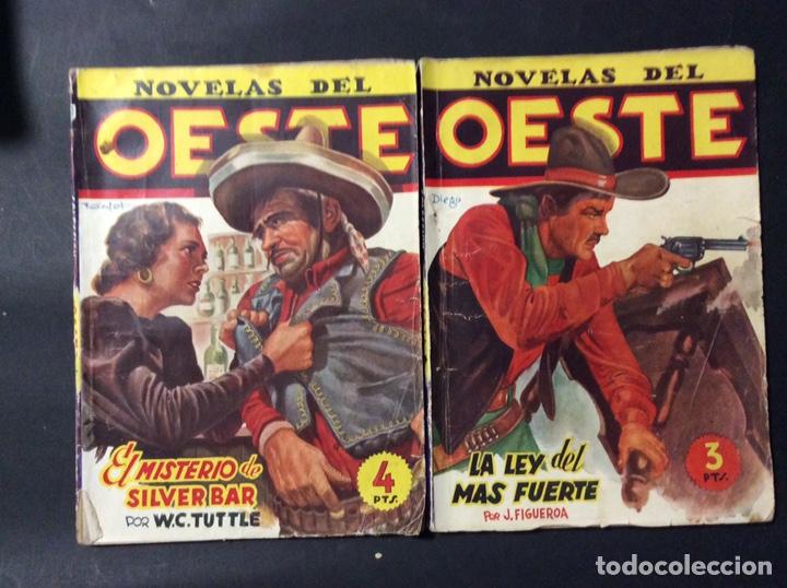 Tebeos: 14 NOVELAS DEL OESTE. EDICIONES CLIPER - Foto 3 - 243903760