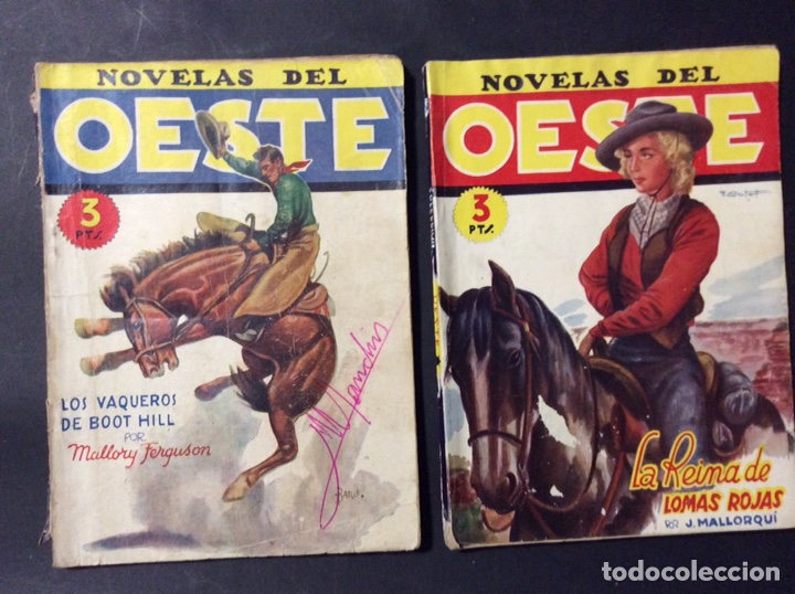 Tebeos: 14 NOVELAS DEL OESTE. EDICIONES CLIPER - Foto 6 - 243903760
