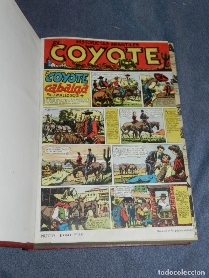 (M11) LOTE DE 26 PRIMEROS NÚMEROS DEL COYOTE DEL N.1 AL N.26 ALMANAQUE 1948 Y ALMANAQUE VERANO (Tebeos y Comics - Cliper - El Coyote)