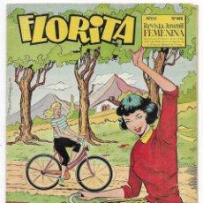 Tebeos: FLORITA AÑO. XI Nº 448 REVISTA JUVENIL FEMENINA 1960. Lote 253117075