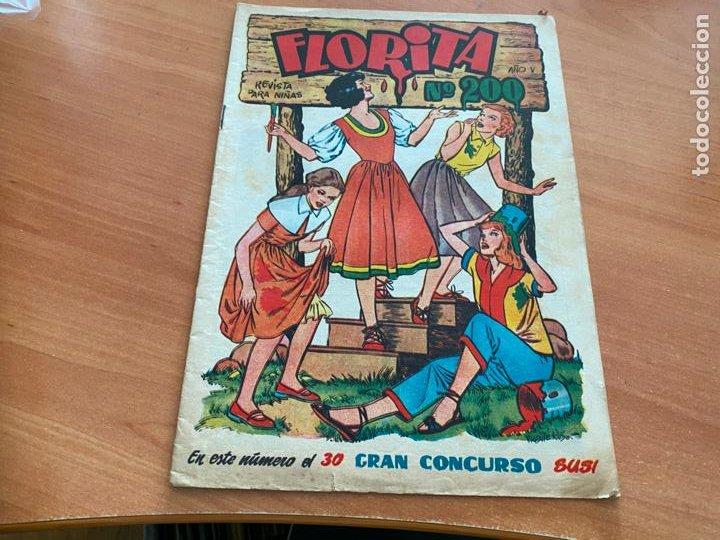 Tebeos: FLORITA LOTE ALMANAQUE 1955 1958 1959 1960 Y 1961 y nº 200 (CLIPER) ORIGINAL (COIB9) - Foto 2 - 254364855