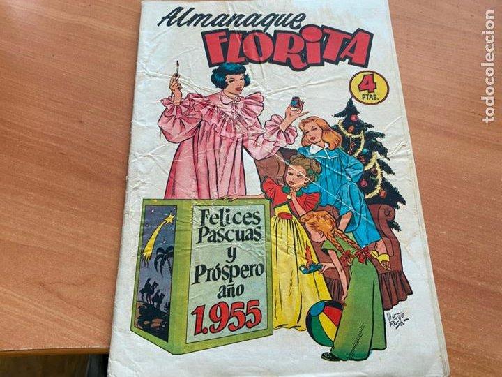 Tebeos: FLORITA LOTE ALMANAQUE 1955 1958 1959 1960 Y 1961 y nº 200 (CLIPER) ORIGINAL (COIB9) - Foto 4 - 254364855